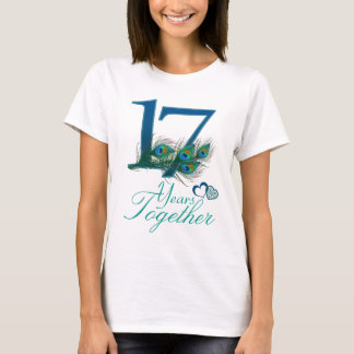 wedding anniversary / 17 / 17th / number 17 T-Shirt