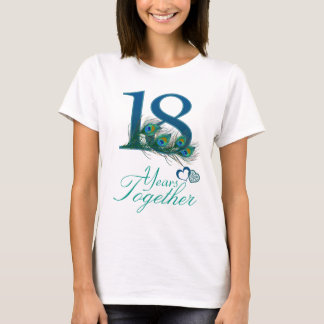 wedding anniversary / 18 / 18th / number 18 T-Shirt