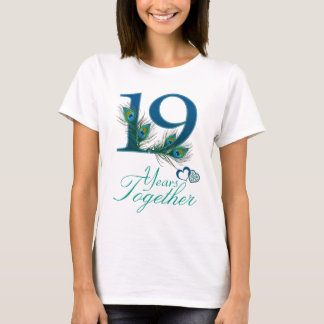 wedding anniversary / 19 / 19th / number 19 T-Shirt