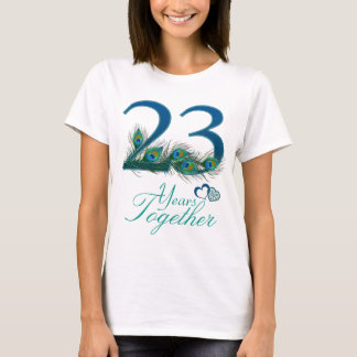 wedding anniversary / 23 / 23rd / number 23 T-Shirt