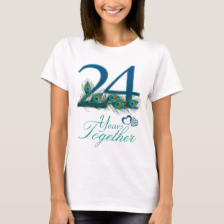 wedding anniversary / 24 / 24th / number 24 T-Shirt