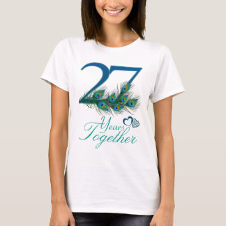 wedding anniversary / 27 / 27th / number 27 T-Shirt