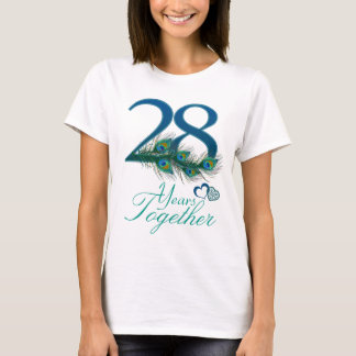 wedding anniversary / 28 / 28th / number 28 T-Shirt