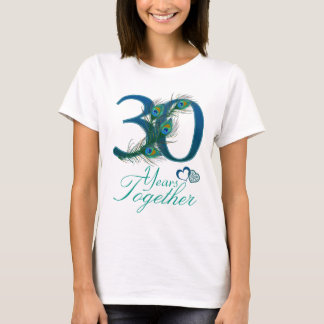 wedding anniversary / 30 / 30th / number 30 T-Shirt