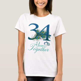 wedding anniversary / 34 / 34th / number 34 T-Shirt
