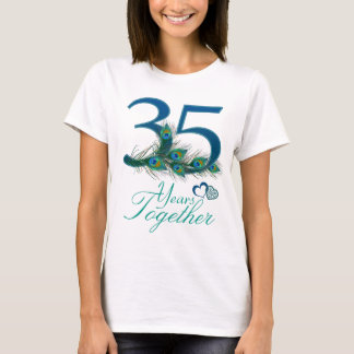 wedding anniversary / 35 / 35th / number 35 T-Shirt