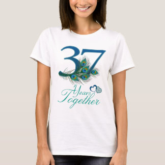 wedding anniversary / 37 / 37th / number 37 T-Shirt