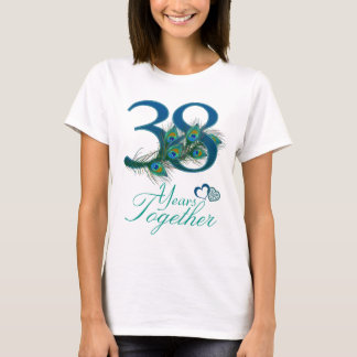 wedding anniversary / 38 / 38th / number 38 T-Shirt