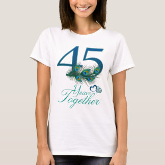 wedding anniversary / 45 / 45th / number 45 T-Shirt