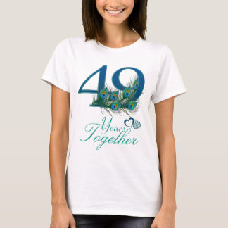 wedding anniversary / 49 / 49th / number 49 T-Shirt