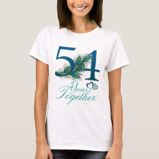 wedding anniversary / 54 / 54th / number 54 T-Shirt