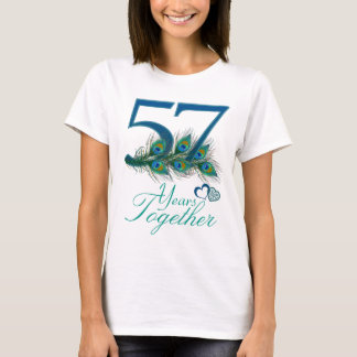 wedding anniversary / 57 / 57th / number 57 T-Shirt