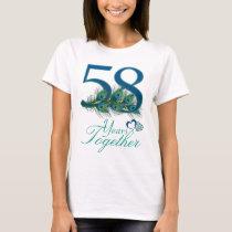 wedding anniversary / 58 / 58th / number 58 T-Shirt