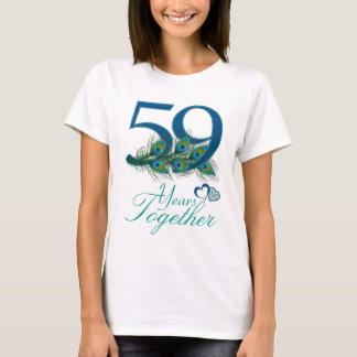 wedding anniversary / 59 / 59th / number 59 T-Shirt