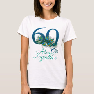 wedding anniversary / 60 / 60th / number 60 T-Shirt
