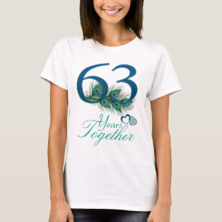 wedding anniversary / 63 / 63rd / number 63 T-Shirt