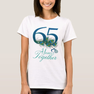 wedding anniversary / 65 / 65th / number 65 T-Shirt