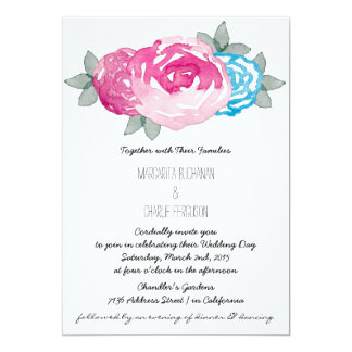 Wedding / Anniversary / Bridal Shower Invitation