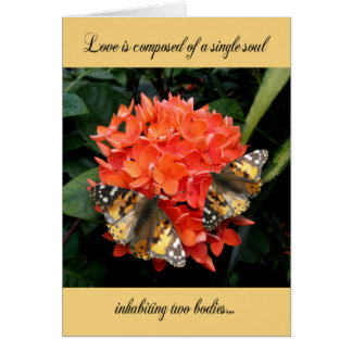 Wedding Anniversary Card - Love is composed of...