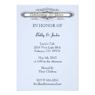 Wedding Anniversary Custom Announcement