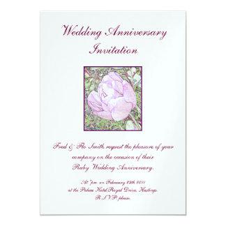Wedding Anniversary Invitations. Card