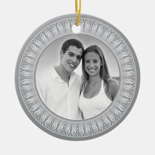 Wedding Anniversary Memento or Gift Christmas Tree Ornaments