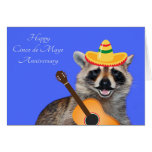 Wedding Anniversary On Cinco de Mayo Card