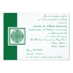 Wedding Anniversary Party Celtic Knot Color Select Invitation