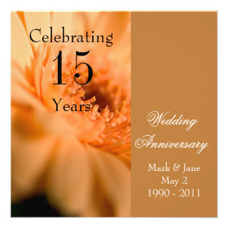Wedding Anniversary Personalized Announcements