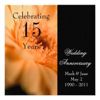 Wedding Anniversary Personalized Invitations