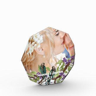 Wedding Anniversary Photo Keepsake Acrylic Crystal Award