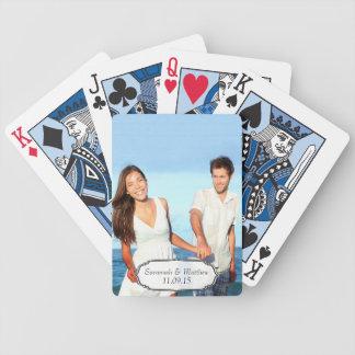 Wedding Anniversary Photo Keepsake Playing Cards