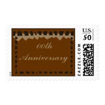 Wedding Anniversary Postage Stamp