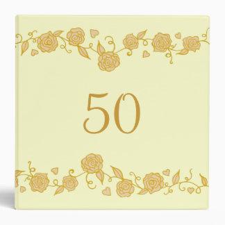 Wedding Anniversary Scrapbook Binder