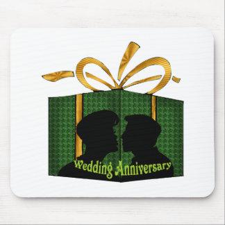 wedding anniversary t mouse mats