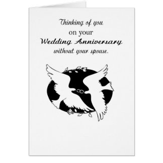 Wedding Anniversary without Spouse Memories, Hope Card