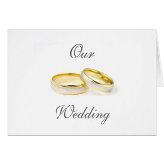 Wedding Announcement/Invitation Card