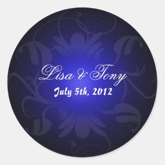 Wedding Announcement Sticker