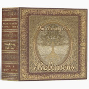 Wedding | Antique Book Look Binder (<em>$24.15</em>)