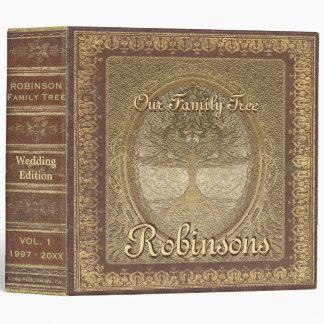 Wedding   Antique Book Look Binder