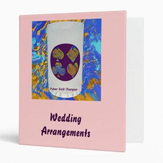 Wedding Arrangements Project Binder