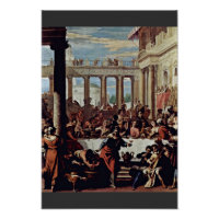 Wedding At Cana By Ricci Sebastiano