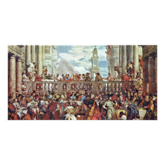 Wedding At Cana By Veronese Paolo (Best Quality) Photo Cards