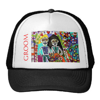 Wedding - Bachelor Party Hat - Mexican Couple