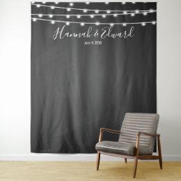 Wedding backdrop, photo prop, custom background tapestry
