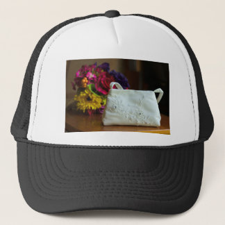 Wedding Bag & Bouquet Trucker Hat