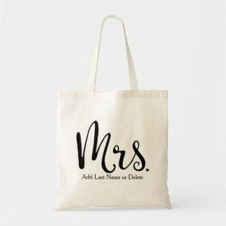 Wedding Bag for Bride Tote Budget Canvas Tote Bag