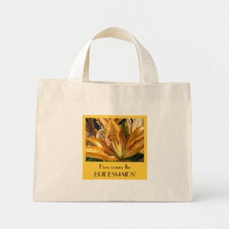 WEDDING bags Here Comes the Bridesmaids! Lilies