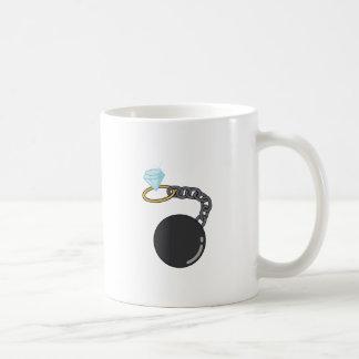 Wedding Ball & Chain Coffee Mug