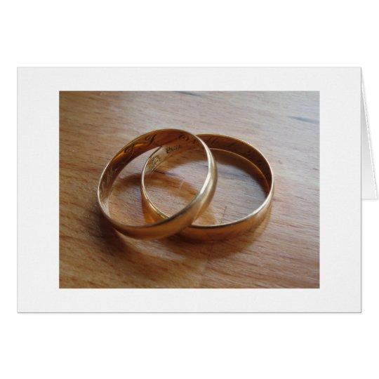 Wedding Bands Card